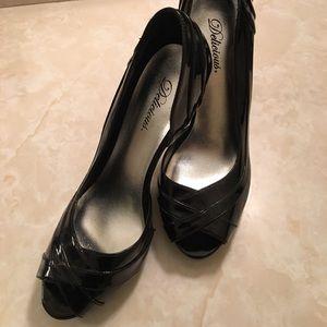 Womens sexy black heels