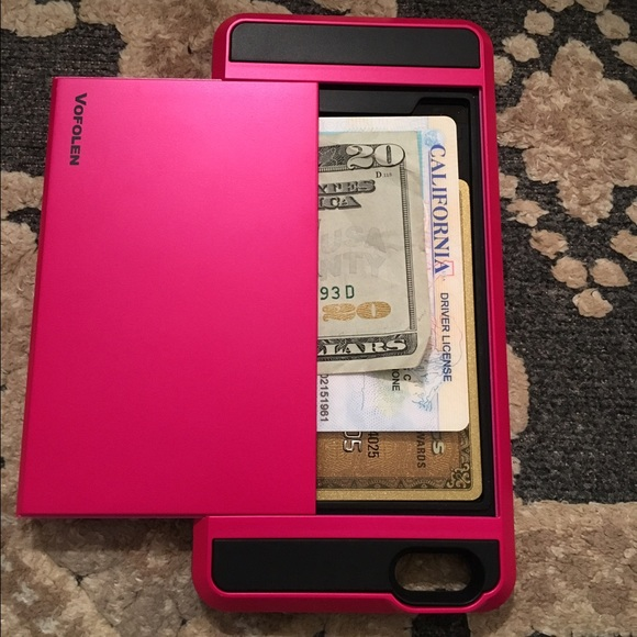 low priced c52bd 05068 NEW iPhone 6s case with room for $$, ID & CC's