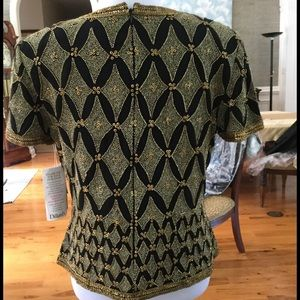 Adrianna Papell Tops - Was $30-REDUCED NWT Adrianna Papell NWT Beaded Top