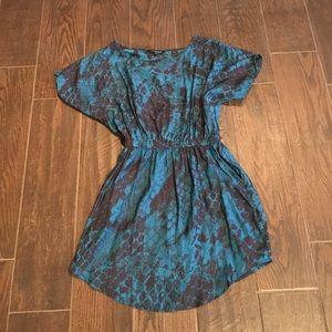 Express Dresses & Skirts - ⚡️Closet Clearout⚡️Blue snake print dress
