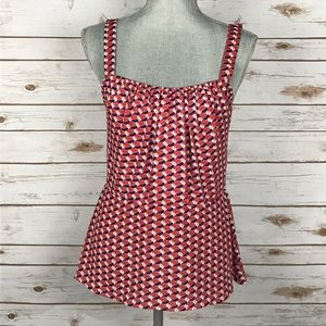 CAbi Tops - NWOT {CAbi} Pattern Print Sleeveless Blouse