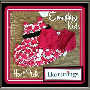 Hartstrings Other - 💘HP💘Hartstrings Gorgeous Dress Bundle with Shrug