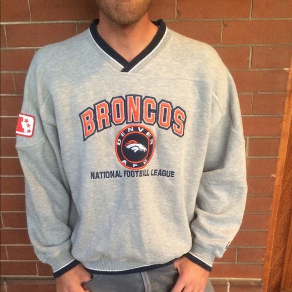 size 40 6fc52 ef80e Vintage Denver Broncos Sweatshirt