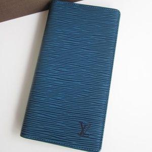 Authentic Louis Vuitton Epi Long Wallet