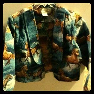 Southwest canyon Jackets & Blazers - Southwest canyon short blazer coat