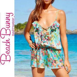 BEACH BUNNY Bahama Mama Romper Sz M
