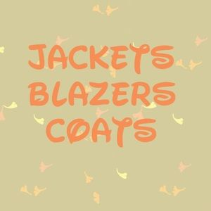 FALL/ WINTER jackets blazers and cloaks