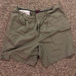 MENS Green dress shorts