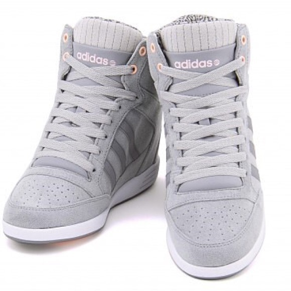 ba0ce65611cd8e ADIDAS Neo Weneo Super wedge shoe leopard Grey 8