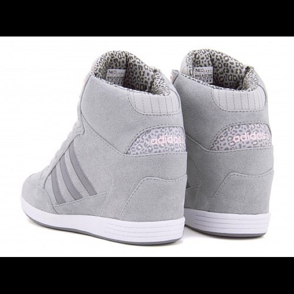 f12cce2c01c ... promo code adidas shoes adidas neo weneo super wedge shoe leopard grey  8 89d35 4198f
