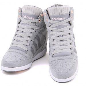 adidas neo wedge sneakers