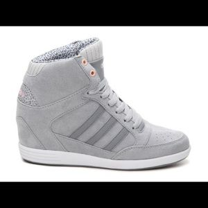 01e5feceaee9f3 Adidas Shoes - ADIDAS Neo Weneo Super wedge shoe leopard Grey 8