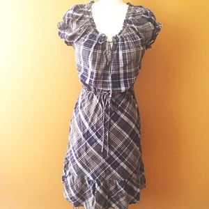 Converse Dresses & Skirts - Easy Plaid Converse Dress with Elastic Waist.