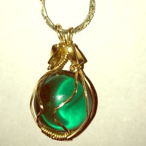 Jewelry - Rare Sea Glass Pendent