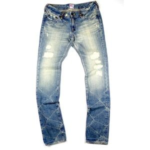 PRPS Denim - PRPS Twilight Dart Blue Jeans Pant R49P24V 28 x 34