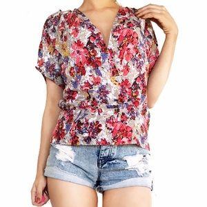 Anthropologie Tops - Anthropologie pleione floral print top