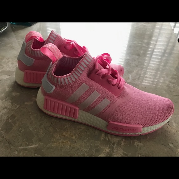 40 Off Adidas Shoes Adidas Nmd Pink And White From