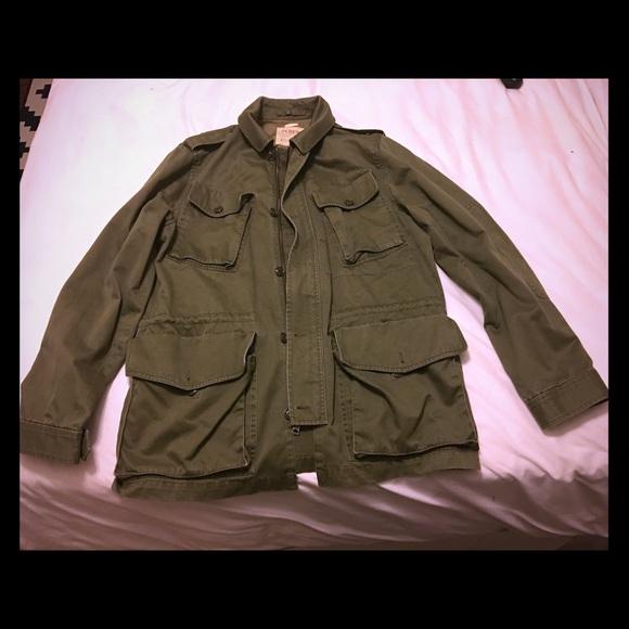 aa6cf712f7395 J. Crew Jackets & Coats   Jcrew Garrison Field Jacket Large   Poshmark