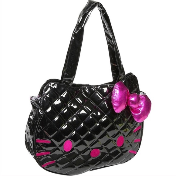 loungefly - Black Hello Kitty Quilted Purse from adicted2retail's ... : hello kitty quilted purse - Adamdwight.com