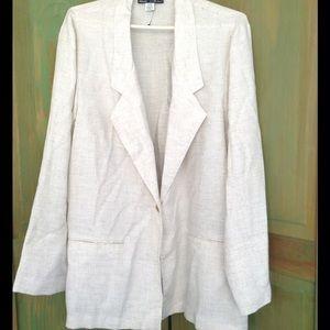 Sag Harbor Jackets & Blazers - Vintage Sag Harbor Linen Blazer 22W