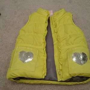 Nannette Other - Nannette Girl yellow puffer vest size 2T