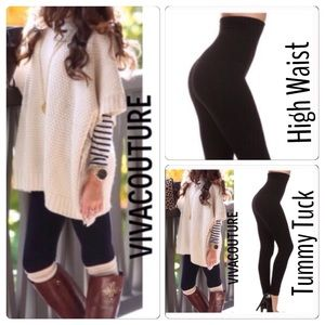Vivacouture Pants - #1 High Quality Tummy Control Compression Legging