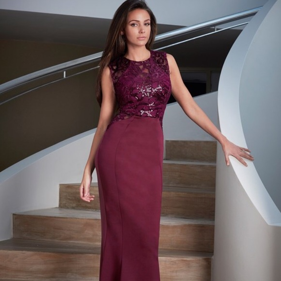 Lipsy London Dresses Lipsy Love Michelle Keegan Sequin Swirl Dress