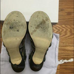 8395bbf976ef Jimmy Choo Shoes - Jimmy Choo Glenys In Elaphe Snake Green