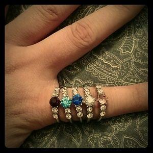 Beautiful party rings