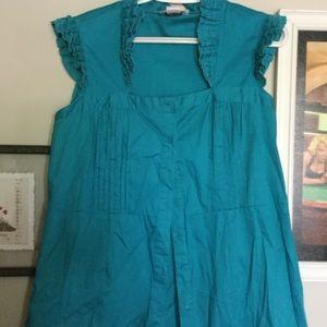 millenium Dresses & Skirts - ( MILLENIUM) - hi ruffle neck TUNIC