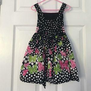 dbb997d8d4a Bonnie Jean Dresses - Polka dot butterfly dress