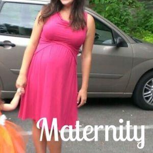 Japanese Weekend Dresses & Skirts - Maternity/nursing twist dress by Japanese Weekend