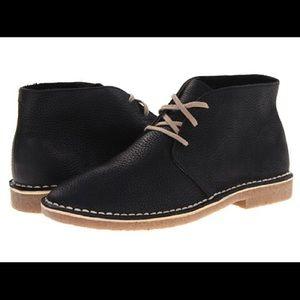 SeaVees Shoes - Men's SeaVees 3 Eye Chukka Black Boots Price Drop!