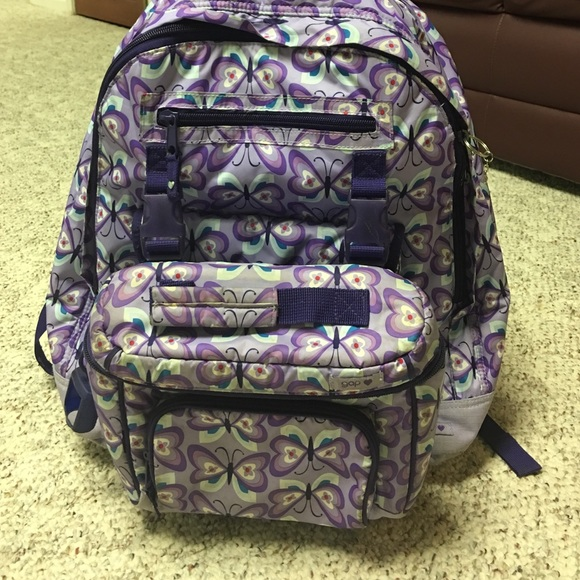 5c8b2bc5d08e GAP Other - Kids Gap rolling backpack with attached lunch box
