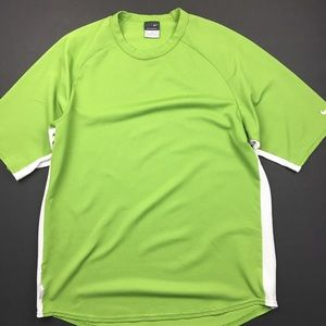 Nike Shirts - Nike Sphere Dry Lime Green Shirt
