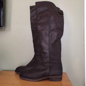 BP. Dark Brown Leather Boots