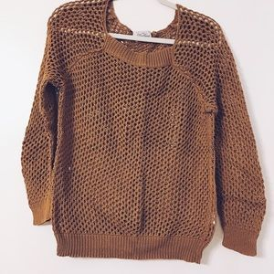 Madewell Wallace open knit sweater. Medium.