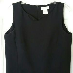 🌺Sleeveless cocktailblack sheath dress
