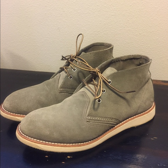 Mens Redwing Suede Chukka Boots 5