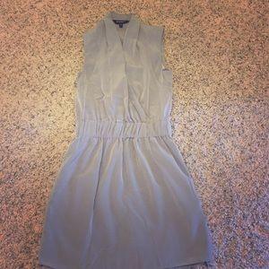Express gray dress
