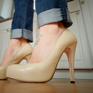 Dolce Vita Shoes - Dolce Vita Nude Platforms