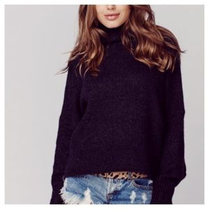 One Teaspoon First Class High Neck Sweater