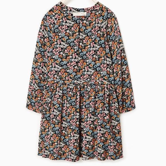 d122f2e3 Zara kids flowing floral dress. 8 year old. M_5820bde513302a2aee0b8e22