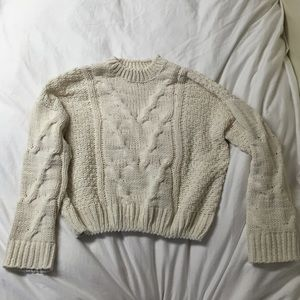 Nasty Gal Cableknit Sweater
