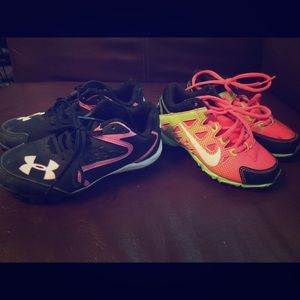Nike Other - Girls baseball cleats.