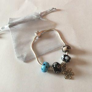 Silver Charm Bracelet