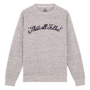 Eleven Paris Tops - [ElevenParis]that's all folks sunny sweatshirt