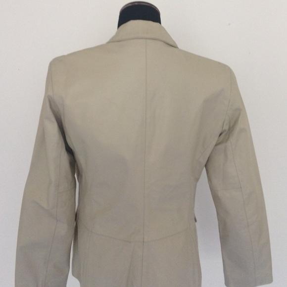 Sisley leather jacket