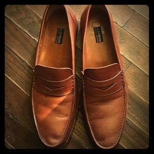 a. testoni Other - Brown leather a testoni penny loafers