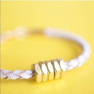 Half United Jewelry - ☆ Honeybee Bracelet - White